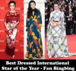 Best Dressed International Star of the Year - Fan Bingbing