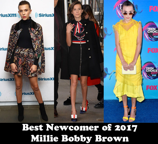 f96bcccd60e4 Millie Bobby Brown has made waves this year as the power player on  Netflix s hit series