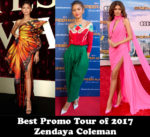 Best Promo Tour of the Year, Most Consistent & Breakout Star of 2017