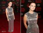 Billie Lourd In Tom Ford - 'Star Wars: The Last Jedi' LA Premiere