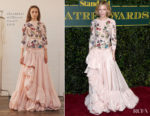 Cate Blanchett In Alexander McQueen - London Evening Standard Theatre Awards