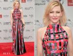 Cate Blanchett In Giorgio Armani - 2017 Dubai International Film Festival