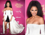 Ciara In Vera Wang - Billboard Women In Music 2017