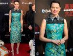 Daisy Ridley In Prada - 'Star Wars: The Last Jedi' Shanghai Premiere