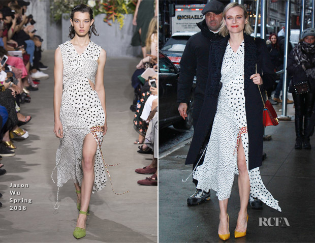 Diane Kruger In Jason Wu - Good Morning America