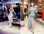Dita Von Teese In Vintage John Galliano - Rimowa x Alexandre Arnault Pop-Up Event