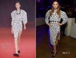 Elizabeth Olsen In Off-White - Cocktail Party For 'Wind River'