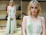Emma Roberts In Christian Dior - Dior Cruise 2018 Tarot Pop-Up Celebration