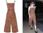 Emma Roberts LHD Mustard Hibiscus Jumpsuit