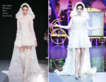 Fan Bingbing In Georges Chakra Couture - The Amazing Magicians