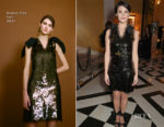Gemma Arterton In Rejina Pyo - The Lady Garden Gala In Aid Of Silent No More