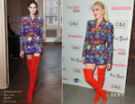 Gwen Stefani In Schiaparelli Couture - Domino x Fred Segal And CB2 Pop Up