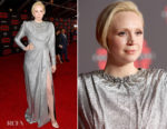 Gwendoline Christie In Gucci - 'Star Wars: The Last Jedi' LA Premiere