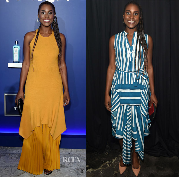 Issa Rae In A.L.C. & TOME - 8th Annual Bombay Sapphire Artisan Series Finale & No Commission Event