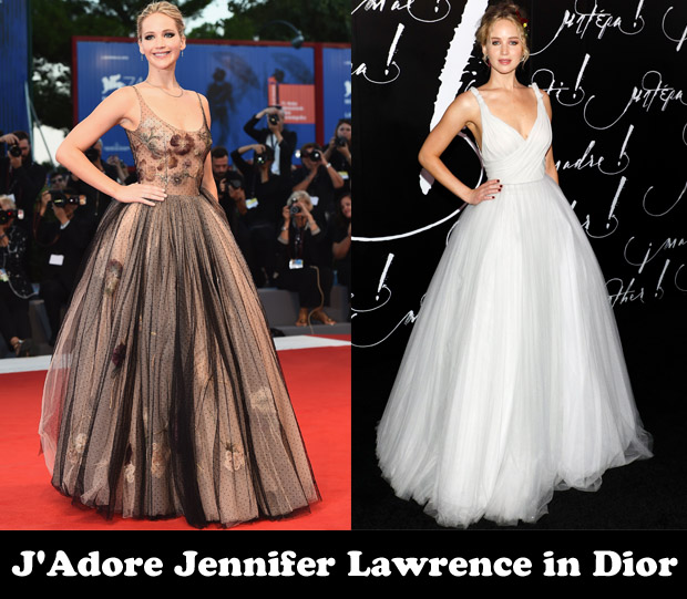 99a7822f0 J Adore Jennifer Lawrence in Dior - Red Carpet Fashion Awards
