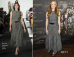 Jessica Chastain In Ralph Lauren - 'Molly's Game' Berlin Photocall