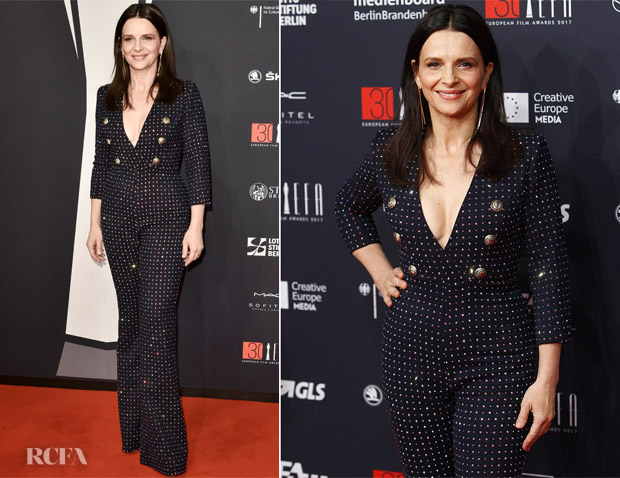 Juliette Binoche In Balmain - European Film Awards 2017