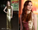 Karen Gillan In Reem Acra - 'Jumanji: Welcome To The Jungle' LA Premiere