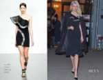 Karlie Kloss In David Koma - Out In New York