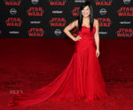 Kelly Marie Tran In Thai Nguyen Atelier - 'Star Wars: The Last Jedi' LA Premiere