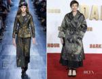 Kristin Scott Thomas In Christian Dior - 'Darkest Hour' London Premiere