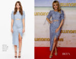 Kylie Minogue In Alice McCall - 'Swinging Safari' Melbourne Premiere