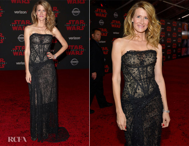 Laura Dern In Vivienne Westwood Couture -'Star Wars: The Last Jedi' LA Premiere