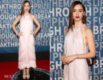 Lily Collins In Prada - 2018 Breakthrough Prize