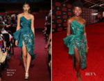 Lupita Nyong'o In Halpern - 'Star Wars: The Last Jedi' LA Premiere