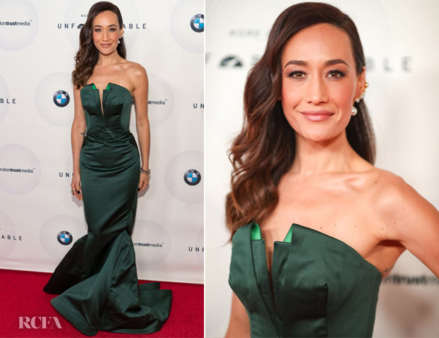 Maggie Q In Zac Posen - 16th Annual Unforgettable Gala