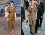 Margot Robbie In Christian Dior - Jimmy Kimmel Live!