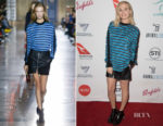 Margot Robbie In Givenchy - Australians In Film Host Screening Of 'I, Tonya'