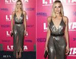 Margot Robbie In Versace - 'I, Tonya' LA Premiere