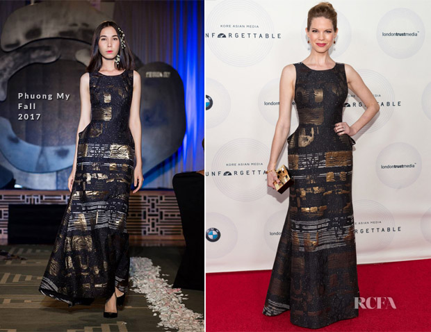 Mariana Klaveno In Phuong My - 16th Annual Unforgettable Gala