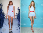 Martha Hunt In Adam Selman - Maxim December Issue Party