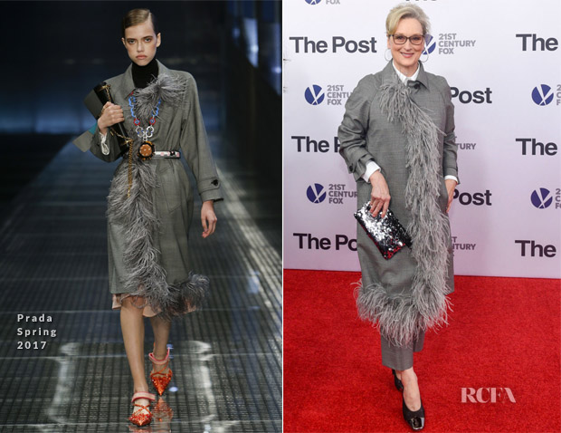 Meryl Streep In Prada - 'The Post' Washington, DC Premiere