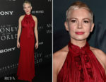 Michelle Williams In Louis Vuitton - 'All The Money In The World' LA Premiere