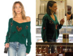 Mila Kunis' Wildfox Couture Star Love Pullover Sweater