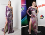 Miley Cyrus In Cristahlea - The Voice Finale