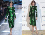 Nieves Alvarez In Dolce & Gabbana - Vogue x Manolo Blahnik Exhibition