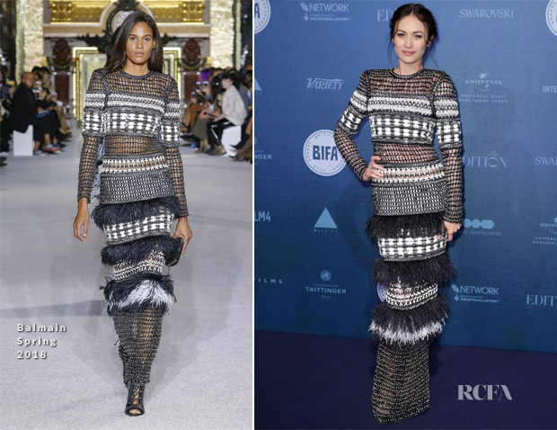 Olga Kurylenko In Balmain - British Independent Film Awards 2017