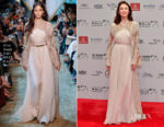 Olga Kurylenko In Elie Saab Couture - 2017 Dubai International Film Festival