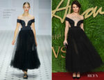 Olga Kurylenko In Temperley London - The Fashion Awards 2017