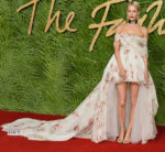 Poppy Delevingne In Giambattista Valli Couture - The Fashion Awards 2017