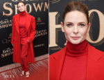 Rebecca Ferguson In Ralph Lauren - 'The Greatest Showman' World Premiere