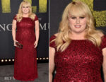 Rebel Wilson In Adrianna Papell - 'Pitch Perfect 3' LA Premiere
