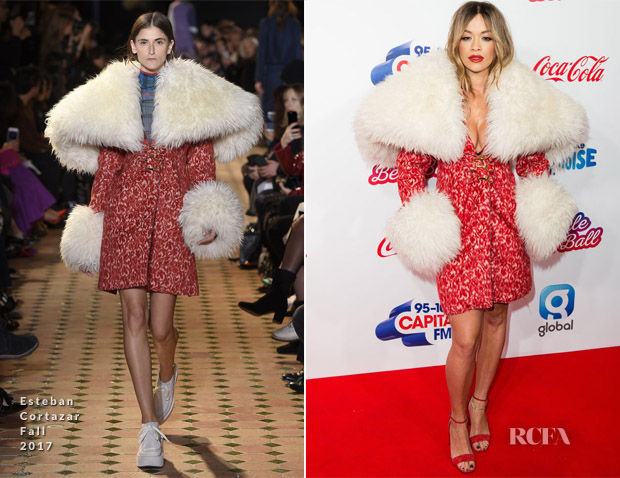 Rita Ora In Esteban Cortazar - Capital's Jingle Bell Ball