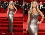 Rita Ora In Versace - The Fashion Awards 2017