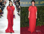 Ruth Negga In Valentino - London Evening Standard Theatre Awards