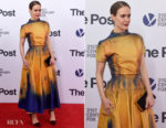 Sarah Paulson In Calvin Klein - 'The Post' Washington, DC Premiere
